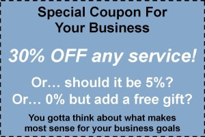 Sample coupon